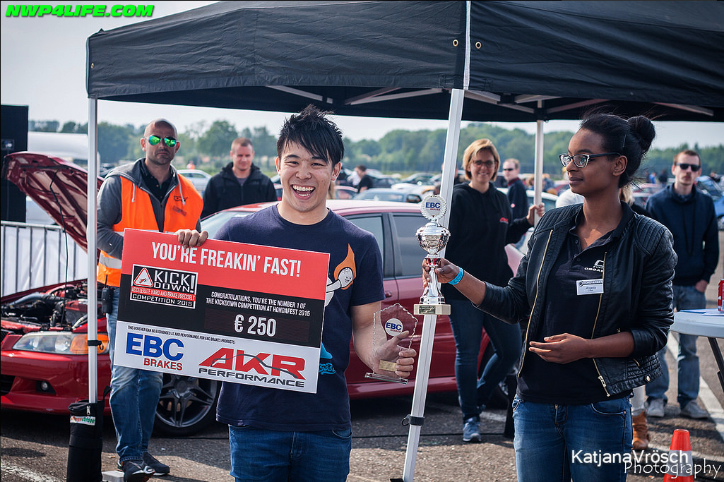 EBC Brakes Kickdown Competition