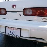 Honda Plate Frame